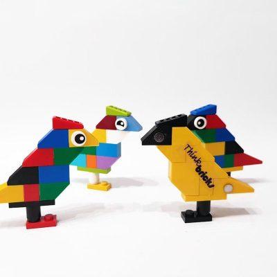 Bird magnets for fridge