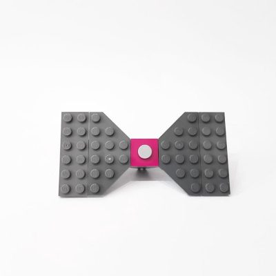 Funny handmade plastic bow tie
