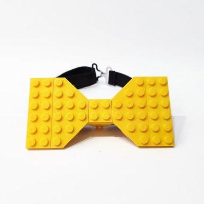 Yellow brick bow tie