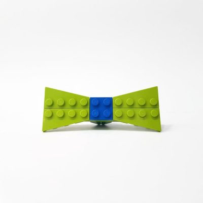 Lime small bow tie