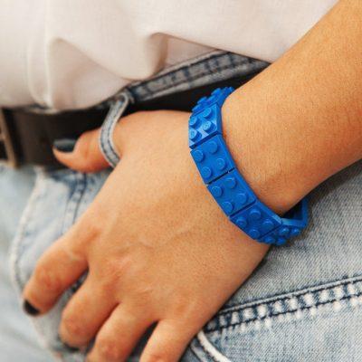 Monochrome brick bracelet 2x2