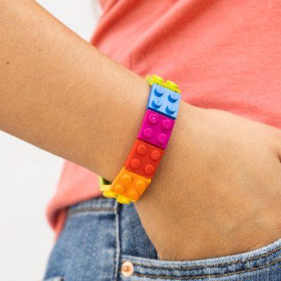 Colorful brick bracelet 2x2 S Size