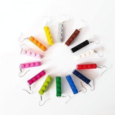 Set of drop earrings 1×4
