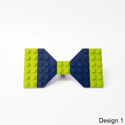 bow tie made from lego bricks