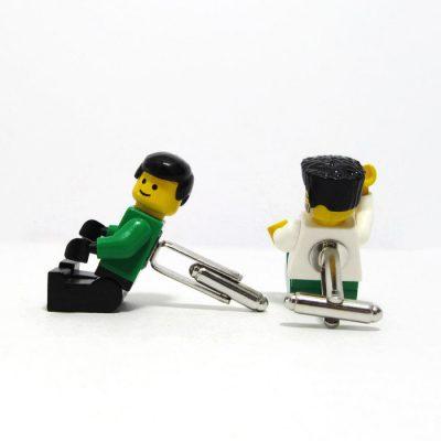 Funny figure cuff links