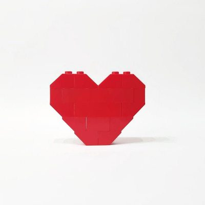 Red heart magnet valenties day gift