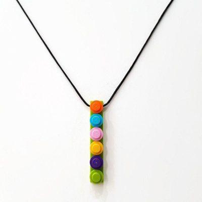 Colorful brick necklace 1x6