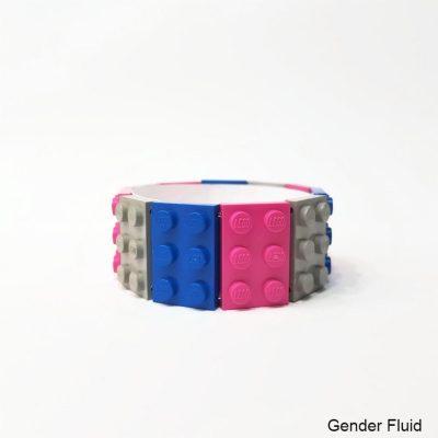 Colorful brick bracelet 2x3 S Size