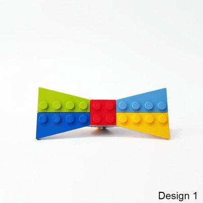 Unisex playful brick bowtie