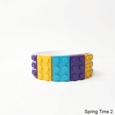 Colorful brick bracelet 2x3 M Size