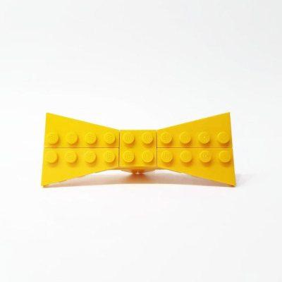 Small yellow bowtie