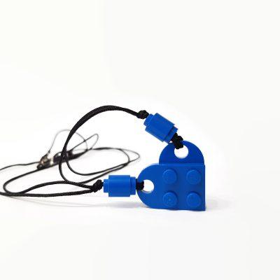 Brick love pendant