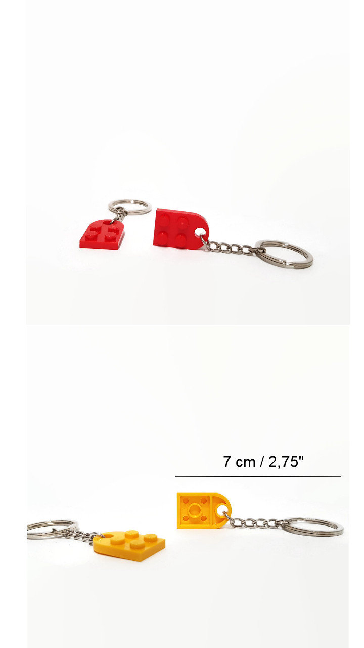 his and hers keychain of love