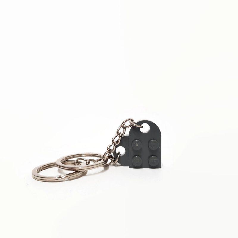 Heart brick keychain of love