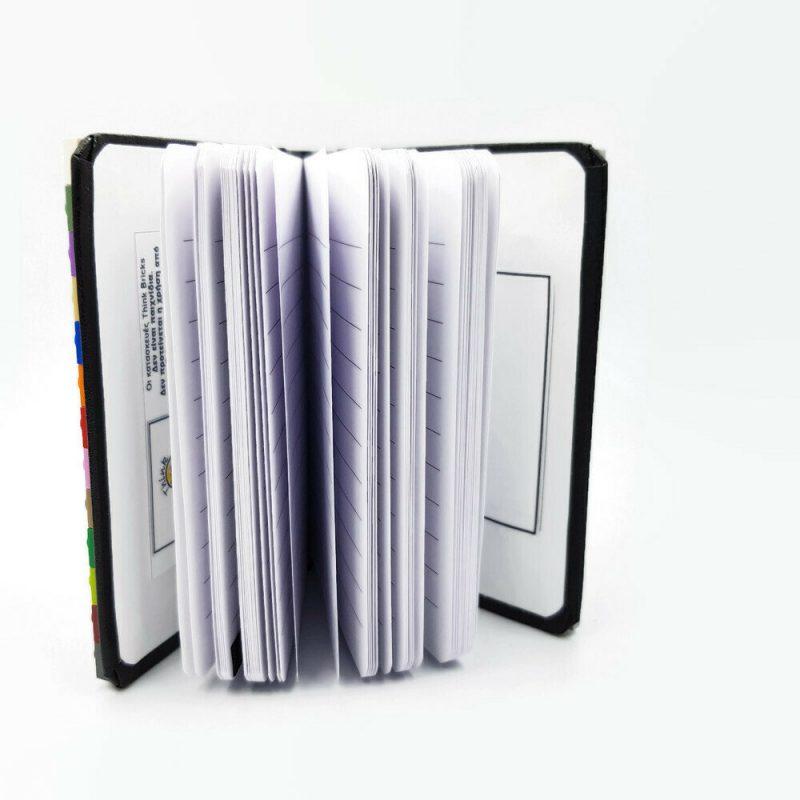 Pocket notebook Α7 made from bricks