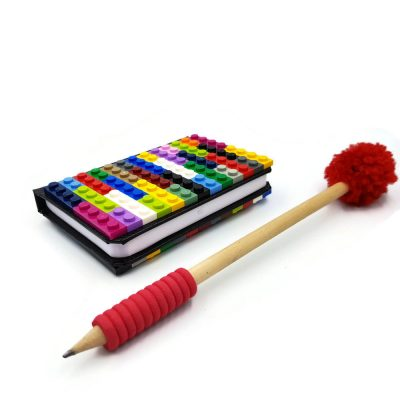 Colorful brick notebook A7