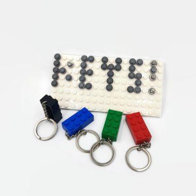 keyholder with keychains by thinkbricks