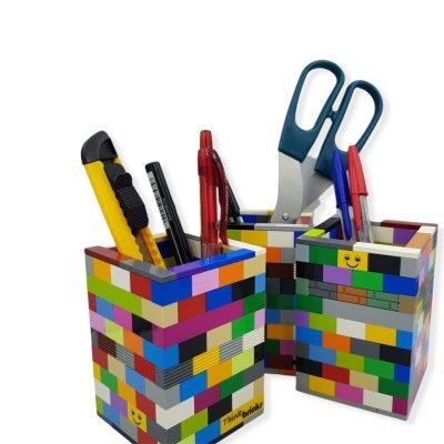 Pencil holders from bricks