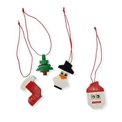 Brick Ornaments for Tree